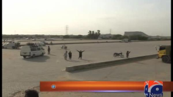 Mayor inaugurates Zukfiqarabad oil tankers parking terminal 27-July-2017