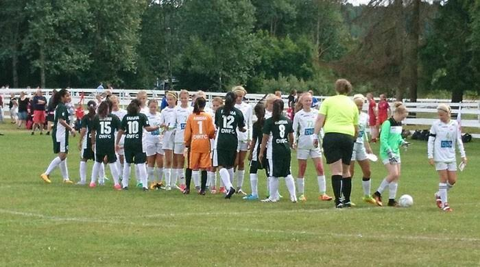 Pakistani girls soccer team participates in Norway Cup