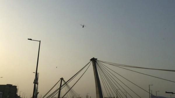 Ariel surveillance Azadi Flyover