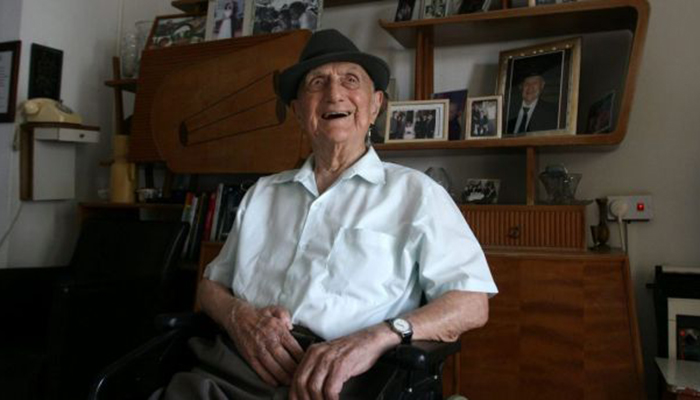 Holocaust Survivor 'Yisrael Kristal' World's Oldest Man Dead At Age of 113