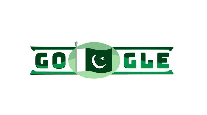 Google doodle celebrates Pakistan's independence day