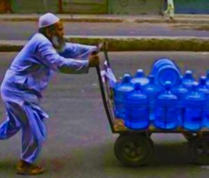 Water bottles and the societies we live in: Pakistan turns 70