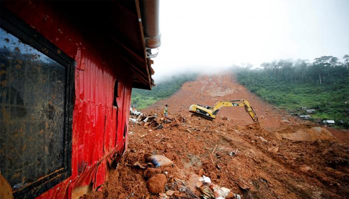 Sierra Leone mudslide: WAHO donates $300000 to Gov't