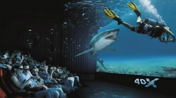 Hold on to your seat... it's the 4D cinema