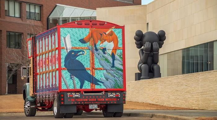 Driving ambition: Pakistani truck rolls into US art museums