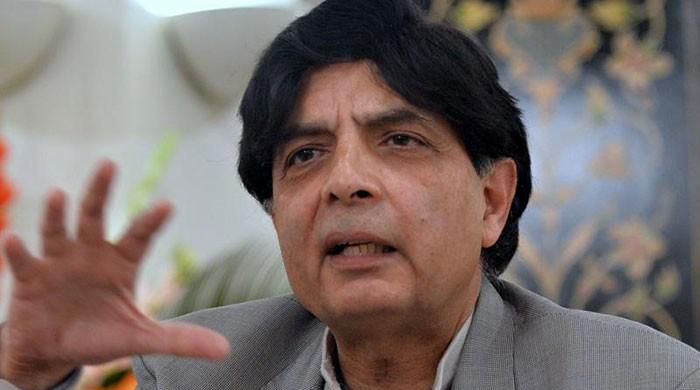 Nisar raises reservations over appointment of new PML-N interim president