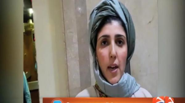 Ayesha Gulalai attends NA session wearing a turban 17-August-2017
