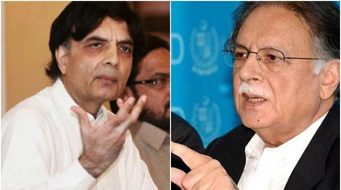 Nisar hits back at Pervaiz Rasheed on 'interior minister' remarks