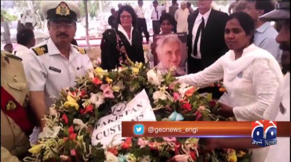 Dr Ruth Pfau laid to rest with full state honours in Karachi 19-August-2017