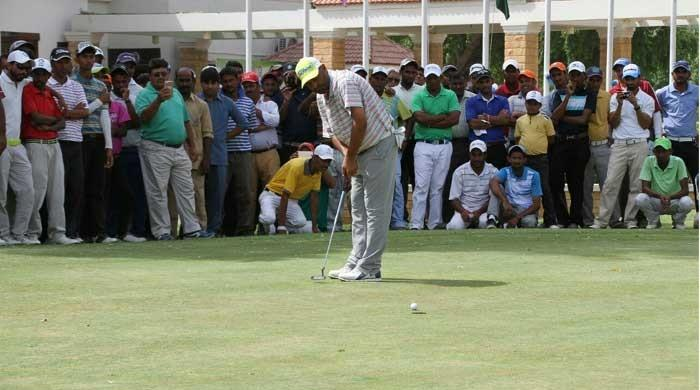Muhammad Ashfaq clinches 22nd CNS Open Golf Championship