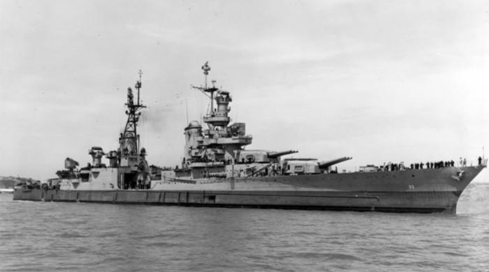 US warship Indianapolis found 18,000 feet deep in Pacific Ocean