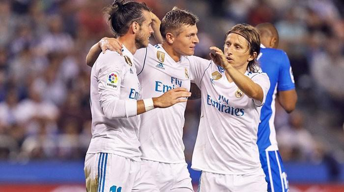Real Madrid ease past Deportivo in La Liga opener