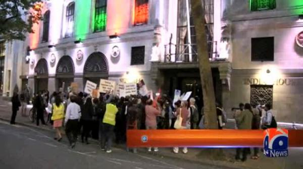 Anti-Hindutva protest in London demands end to lynching of Indian minorities 21-August-2017