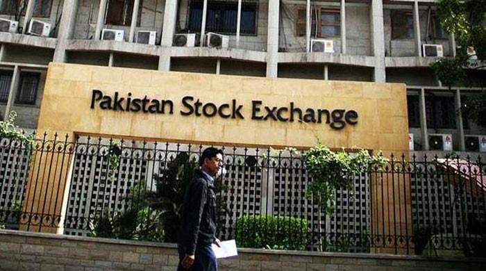 After 1,000 point drop, KSE-100 index ends day down 170 points