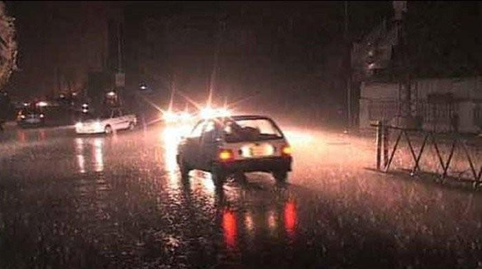 Torrential rainfall leaves at least one dead in Karachi