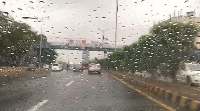 Rainfall resumes across various parts of Karachi