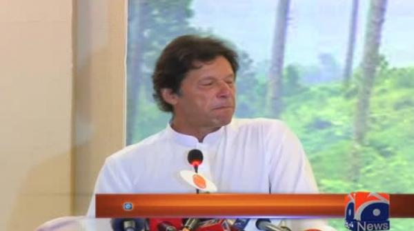 Imran Khan was addressing an event on KP's 'Billion Tree Tsunami' project