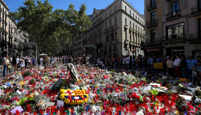 Spain terror suspects appear in court