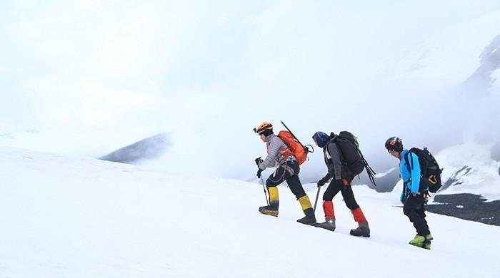 Three Pakistani women conquer 5,500 metre Kuksil peak