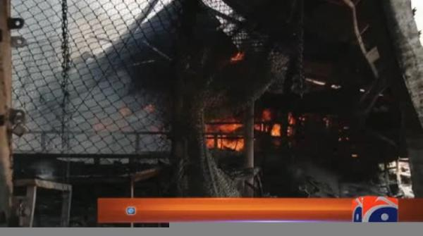 Over 1,000 stalls gutted as fire engulfs Islamabad's Sasta Bazaar 23-August-2017