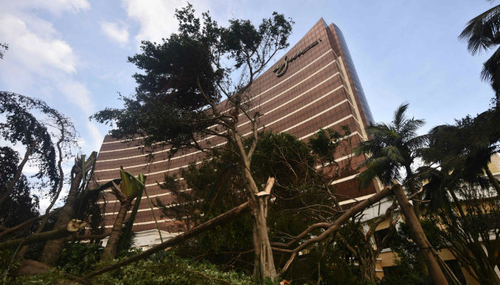 Typhoon Hato wreaks havoc in Hong Kong, thousands evacuated