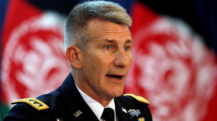 Time for Taliban to join peace process, says top US general in Afghanistan