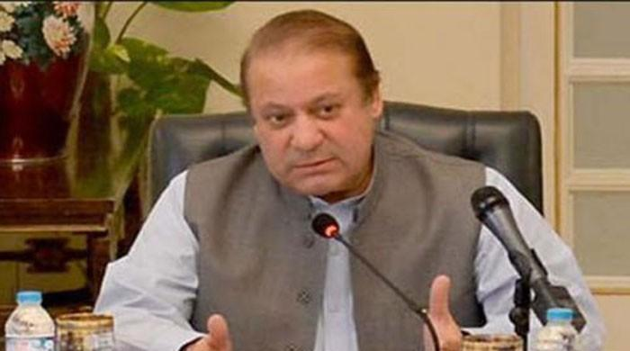 Nawaz chairs high-level session on NA-120 at Jati Umra