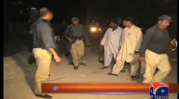 Nine suspects apprehended by police during raids in Karachi 24-August-2017