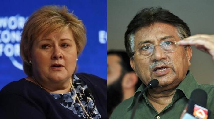 Norwegian PM declines meeting with ex-Musharraf