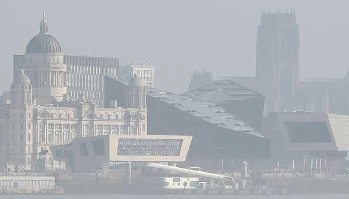 Police issue alert over unknown 'haze' on British coast