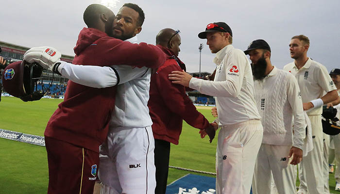 Hope springs Windies to famous victory
