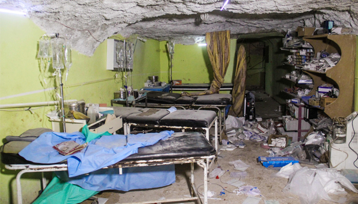 Syria's government killed civilians with chemical weapons in April finds United Nations  inquiry