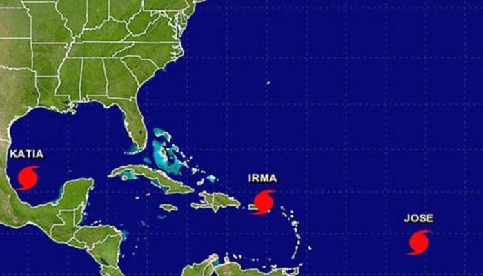 Katia dissipates over Mexico but heavy rainfall continues