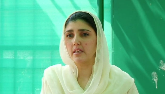 ECP adjourns reference against Ayesha Gulalai