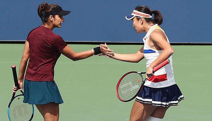 Peng Shuai reaches US Open women's doubles semi-final