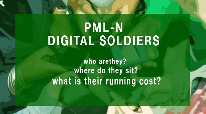 The PML-N's digital soldiers