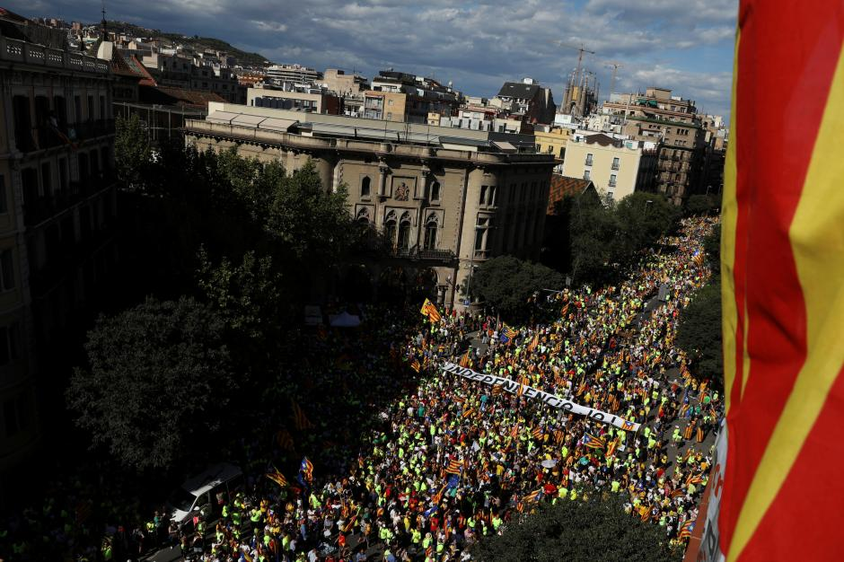 Spain already another country for Catalans