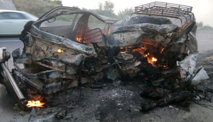 15 killed in road accident at Chakri Interchange