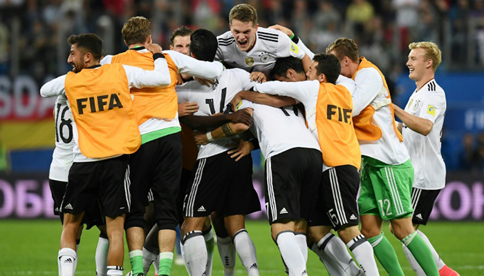 Germany back at FIFA World Ranking summit as Brazil slip after draw