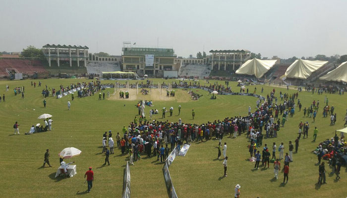 qalandars reach gujranwala in quest for cricketing talent sports