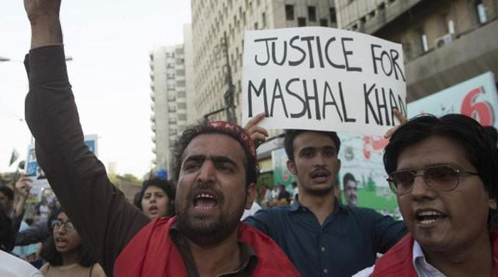 Court indicts 57 suspects in Mashal Khan murder case