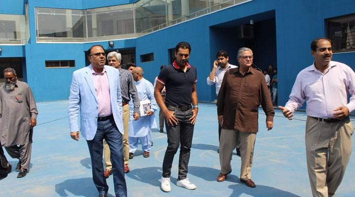 Aisam inaugurates state-of-the-art tennis court in Lahore
