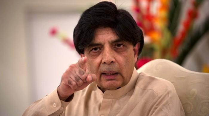 Nisar lashes out at PM, warns against 'embarrassing Pak internationally'