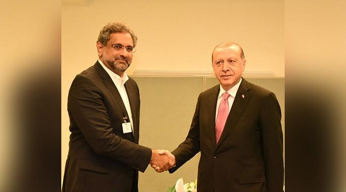 PM Abbasi, Erdogan agree on revival of Pak-Afghan-Turkey Trilateral process