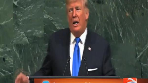 At UN, Trump says US may have to 'totally destroy' North Korea 19-September-2017