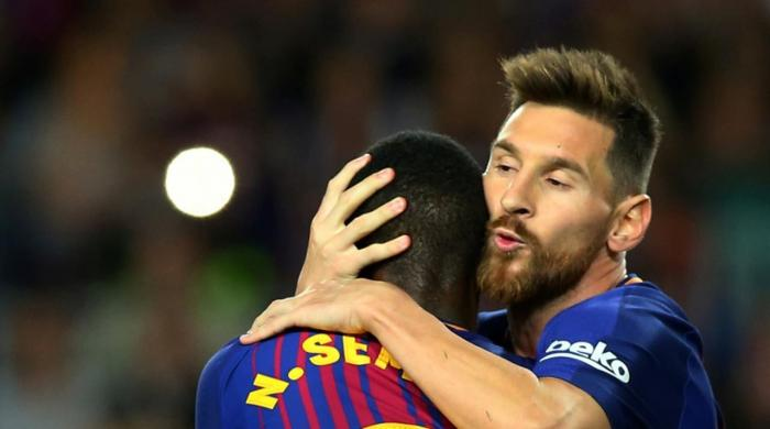 Magical Messi hits four as Barcelona thrash Eibar