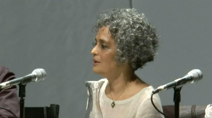 Arundhati Roy talks the darker side of shining India