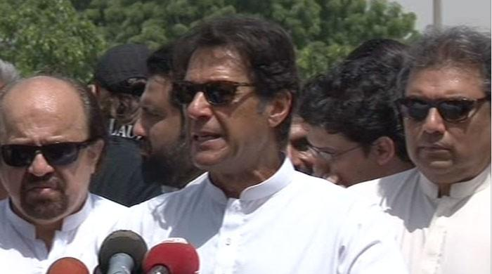 PTI chief lashes out at Nawaz, Zardari
