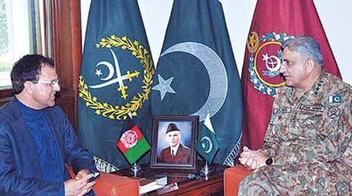 Afghan envoy calls on COAS, discusses bilateral security issues