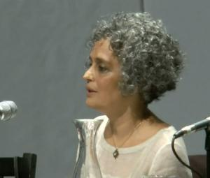 Arundhati Roy talks the darker side of shining India